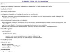 Probability: Playing with Fire Lesson Plan