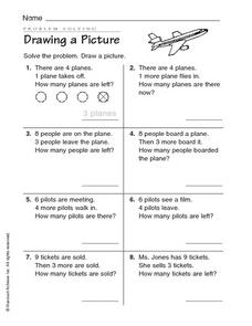 Problem Solving: Drawing a Picture Worksheet