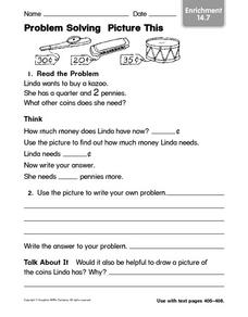 Problem Solving: Picture This Worksheet