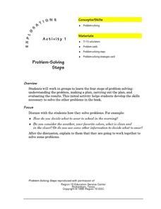 Problem-Solving Steps Lesson Plan