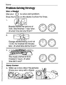 Problem-Solving Strategy Worksheet