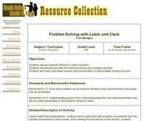 Problem Solving with Lewis and Clark Lesson Plan