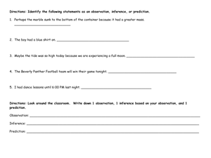 Worksheets Observation And Inference Worksheet collection of observation inference worksheet sharebrowse and worksheets for school