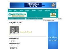 Project SETI. Lesson Plan
