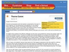 Project Thorne Comm Lesson Plan