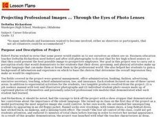 Projecting Professional Images... Through the Eyes of Photo Lenses Lesson Plan