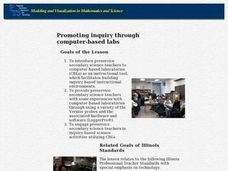 Promoting Inquiry Throught Computer-Based Labs Lesson Plan