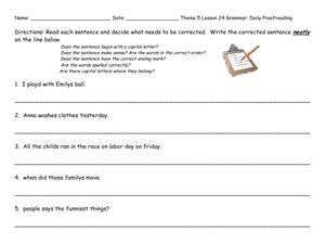 Proofreading service online sentences