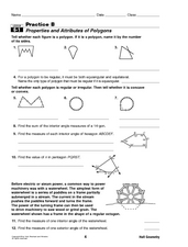 properties and attributes of polygons 10th grade worksheet lesson planet. Black Bedroom Furniture Sets. Home Design Ideas