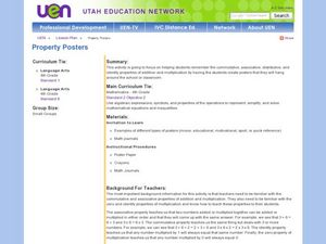 Property Posters Lesson Plan