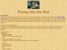 Prying Into the Past Lesson Plan