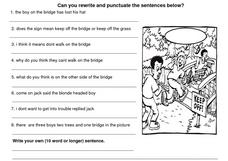 Punctuation Review 4 Worksheet