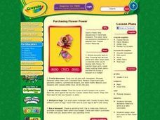 Purchasing Flower Power Lesson Plan