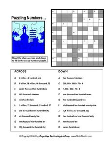 Puzzling Numbers Lesson Plan
