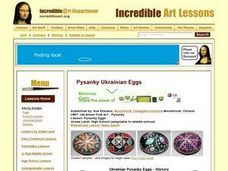 Pysanky Eggs Lesson Plan