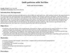 Quilt Patterns With Textiles Lesson Plan