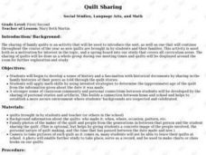 QUILT SHARING Lesson Plan