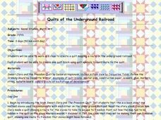 Quilts of the Underground Railroad Lesson Plan