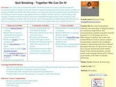 Quit Smoking-Together We Can Do It! Lesson Plan