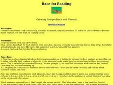Race for Reading Lesson Plan