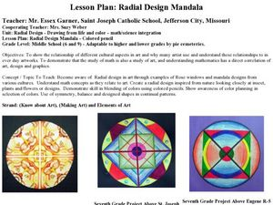 Radial Design Mandala Lesson Plan