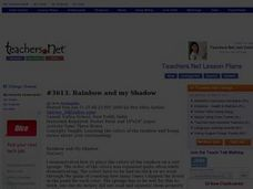 Rainbow and My Shadow Lesson Plan