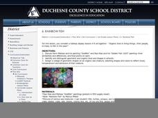Rainbow Fish Lesson Plan