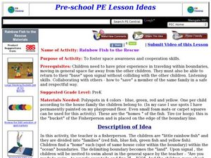 Rainbow Fish to the Rescue Lesson Plan