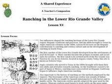 Ranching in the Lower Rio Grande Valley Lesson Plan