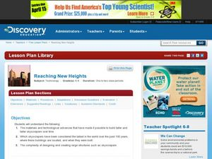 Reaching New Heights Lesson Plan