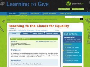 Reaching to the Clouds for Equality Lesson Plan