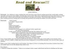 Read and Rescue!!! Lesson Plan