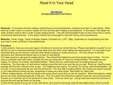 Read it in Your Head Lesson Plan