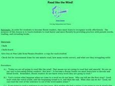 Read like the Wind! Lesson Plan