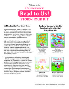 Read to Us! Lesson Plan