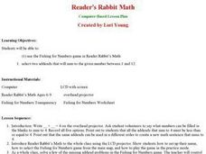 Reader's Rabbit Math Lesson Plan