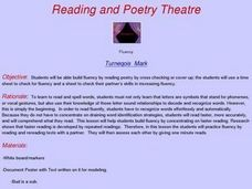 Reading and Poetry Theatre Lesson Plan