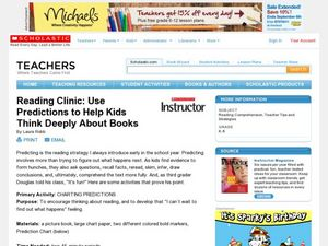 Reading Clinic: Use Predictions to Help Kids Think Deeply About Books Lesson Plan