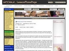 Reading Comprehension and Bio Poems Lesson Plan