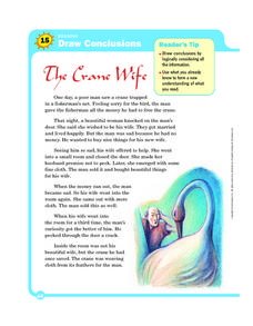 Reading: Draw Conclusions Worksheet