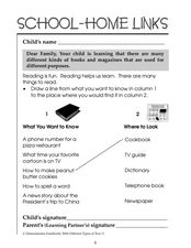 Reading is Fun: Where to Look For Information Worksheet