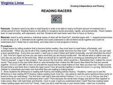 Reading Racers Lesson Plan