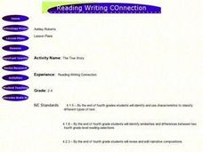 Reading Writing Connection Lesson Plan