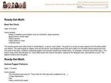 Ready-Set-Math Lesson Plan