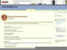 Real and Fictional Wolves Lesson Plan