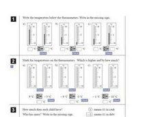 Real Life Positive and Negative Numbers Worksheet