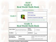 Real World Math Book Lesson Plan