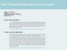 Reciprocal Learning-Decimal Review Lesson Plan