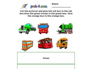 Recognizing Colors Worksheet