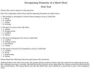 Worksheets Identifying Story Elements Worksheet short story elements worksheet delibertad delibertad